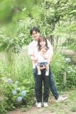 大阪鶴見緑地公園家族写真バースデーフォト出張撮影会カメラマン