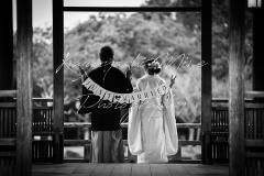 浮御堂結婚式和装色打掛前撮り出張撮影持ち込み外注カメラマン
