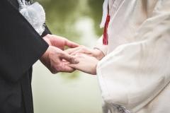 鶴見緑地公園結婚式和装色打掛前撮り出張撮影持ち込み外注カメラマン