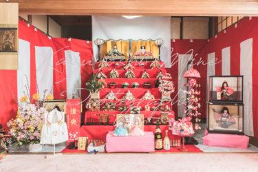 桃の節句!ひな祭り自宅出張撮影カメラマンin大阪