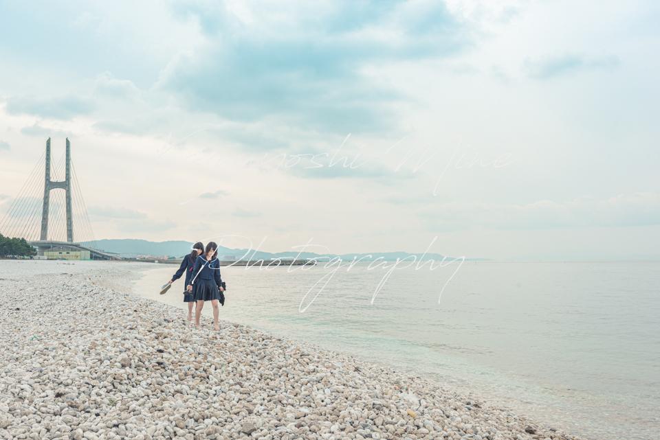青春の思い出泉佐野市マーブルビーチ卒業記念写真出張撮影会