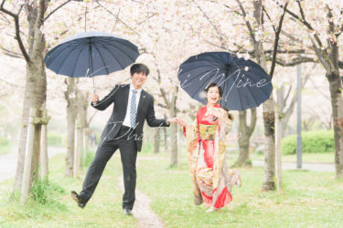 3/29,4/5限定!特別価格桜ロケーション出張撮影会in住吉公園&奈良公園