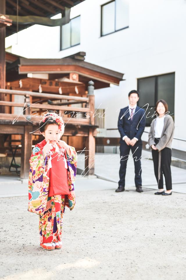 お宮参り七五三結婚式前撮り大阪天満宮特別価格出張撮影会