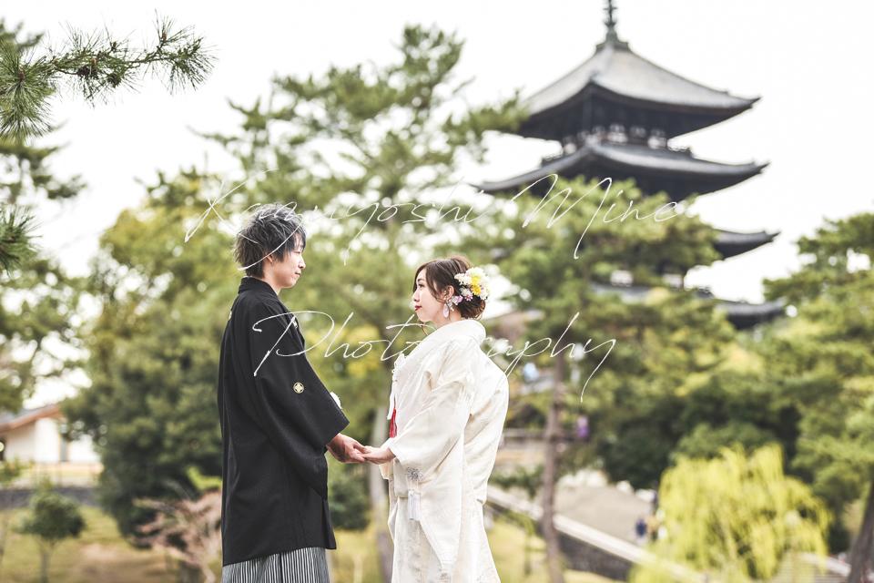 大阪の結婚式洋装前撮り出張撮影持ち込みカメラマン