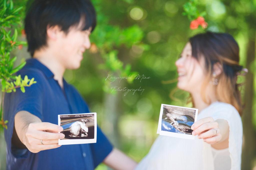 鶴見緑地公園マタニティフォト家族写真紫陽花出張撮影会