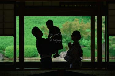 大阪府堺市大仙公園鶴見緑地長居公園日本庭園浴衣家族写真出張撮影