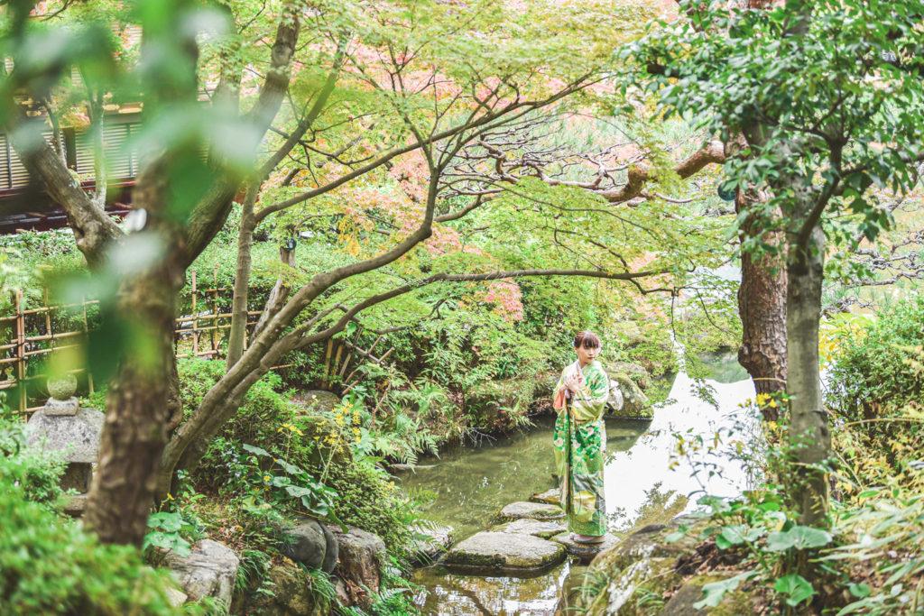 大阪京都兵庫奈良成人式前撮り後撮り振袖ロケーション撮影