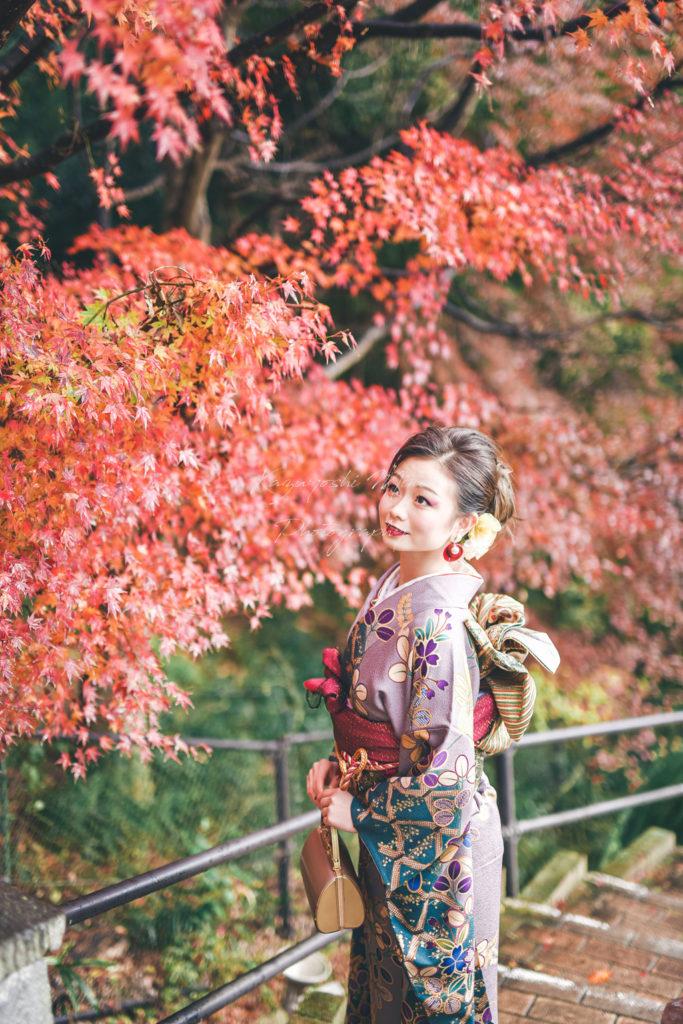 大阪天満宮成人式前撮り後撮り振袖出張撮影カメラマン